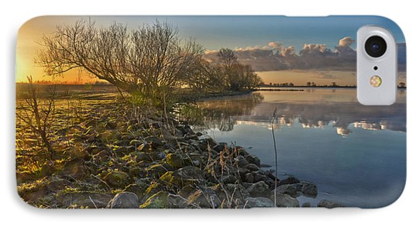 IPhone Case featuring the photograph Easter Sunrise by Frans Blok