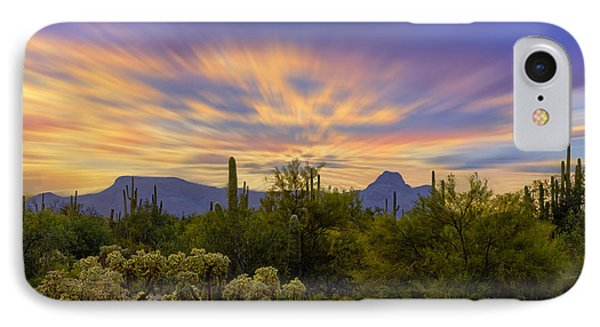 Easter Sunset H18 IPhone Case by Mark Myhaver