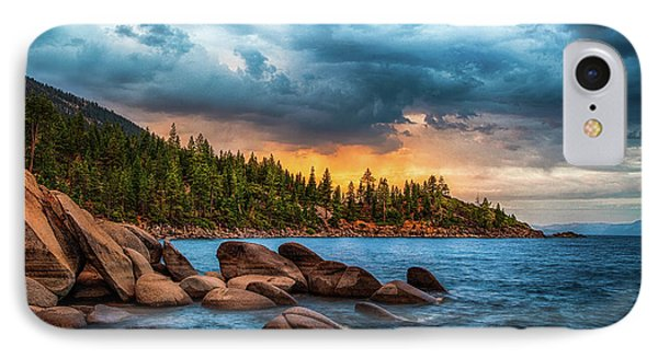 Eastern Glow At Sunset IPhone Case