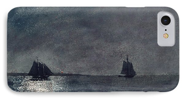 Eastern Point Light IPhone Case by Winslow Homer