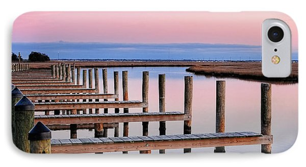 Eastern Shore On The Docks IPhone Case