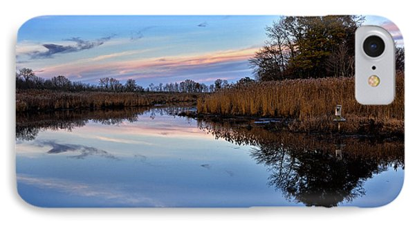 Eastern Shore Sunset - Blackwater National Wildlife Refuge IPhone Case by Brendan Reals
