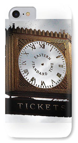 IPhone Case featuring the photograph Eastern Standard Time by Christopher Woods