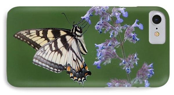 Eastern Tiger Swallowtail Profile IPhone Case