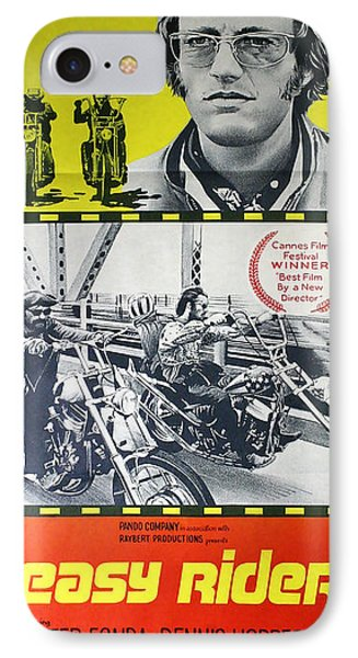 Easy Rider Movie Lobby Poster  1969 IPhone 7 Case