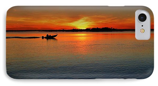 Easy Sunday Sunset IPhone Case by Allen Beilschmidt