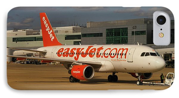 IPhone Case featuring the photograph Easyjet Airbus A319-111  by Tim Beach