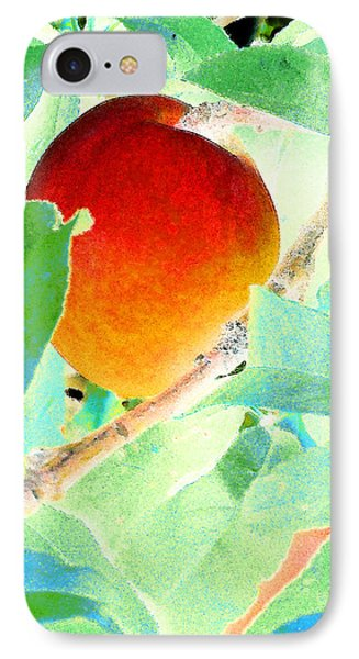 Eat A Peach IPhone Case by Louis Nugent