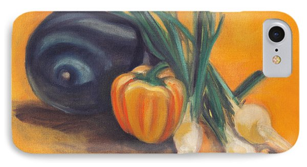 IPhone Case featuring the painting Eat Your Vegetables by Shawna Rowe