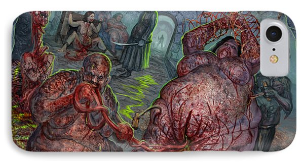 Eating The Stench IPhone Case by Tony Koehl