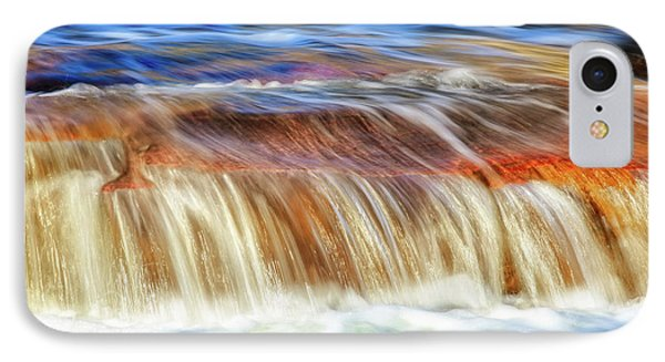 Ebb And Flow, Noble Falls IPhone Case by Dave Catley