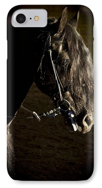 Ebony Beauty IPhone Case by Wes and Dotty Weber
