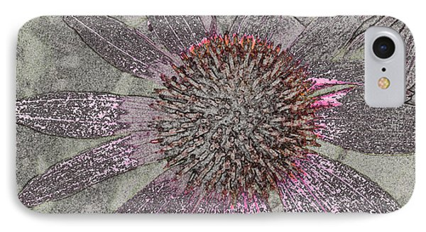 Echinacea Fantasia IPhone Case by William Tasker