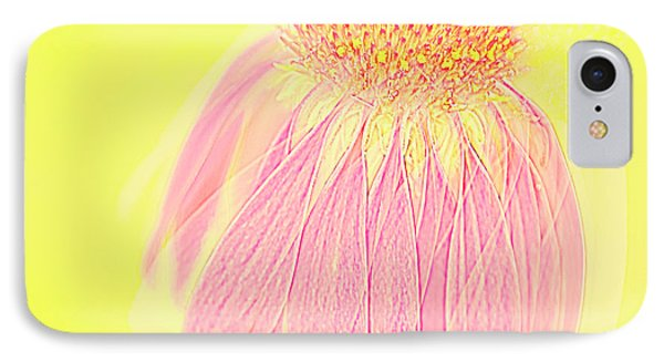 IPhone Case featuring the photograph Echinacea In Pink by Linde Townsend