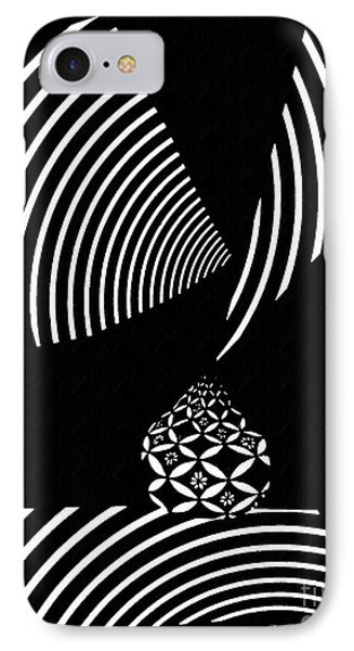 Echo In Time IPhone Case by Sarah Loft