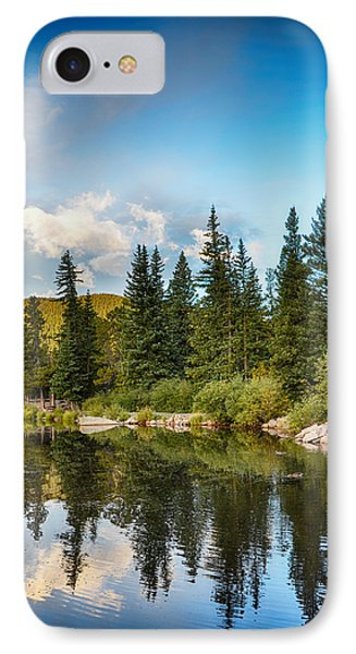 Echo Lake 2 IPhone Case by Angelina Vick
