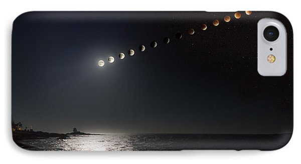 Eclipse Of The Moon IPhone Case