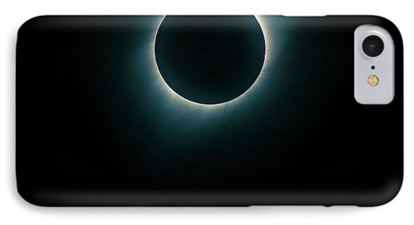 IPhone Case featuring the photograph Eclipse Wyoming by Rikk Flohr