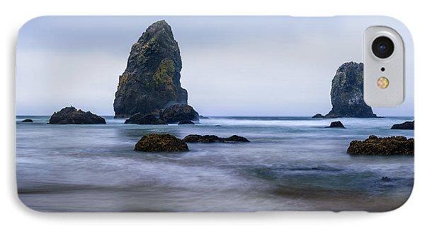 Ecola Beach IPhone Case by John Gilbert