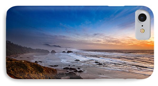 Ecola State Park At Sunset IPhone Case by Ian Good