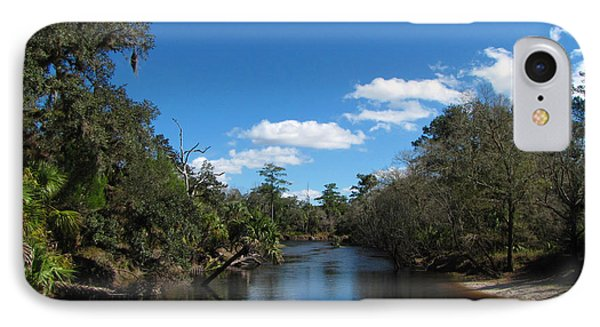 IPhone Case featuring the photograph Econlockhatchee River by Barbara Bowen