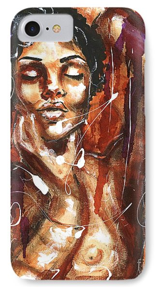 IPhone Case featuring the painting Ecstacy by Alga Washington