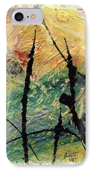 IPhone Case featuring the painting Ecstasy II by Angela L Walker