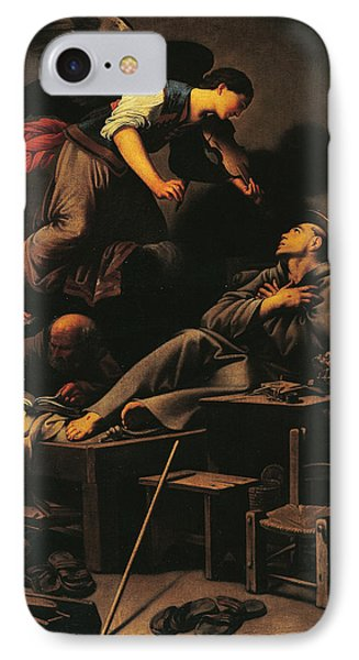 Ecstasy Of St Francis IPhone Case by Carlo Saraceni