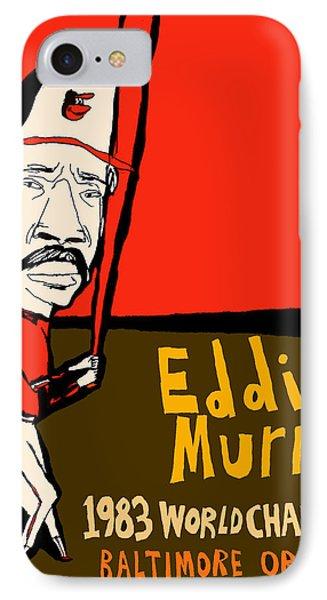 Eddie Murray Baltimore Orioles Phone Case by Jay Perkins