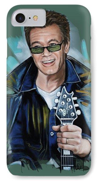 Van Halen iPhone 7 Case - Eddie Van Halen by Melanie D