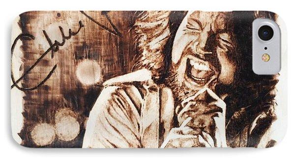 Eddie Vedder IPhone Case by Lance Gebhardt