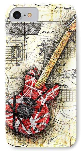 Eddie's Guitar II IPhone Case