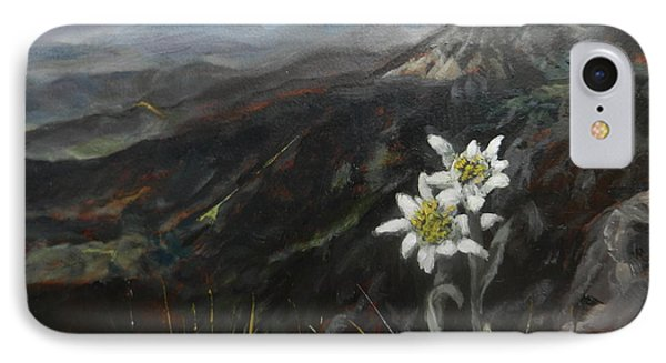 Edelweiss Moment IPhone Case