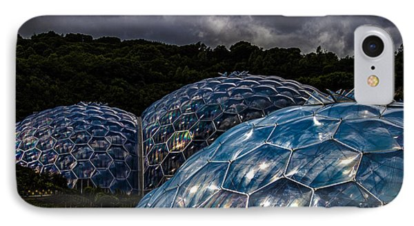 Eden Project Cornwall IPhone Case by Martin Newman