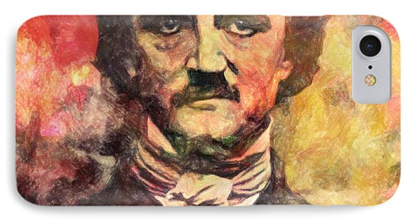 Edgar Allan Poe IPhone Case by Taylan Apukovska