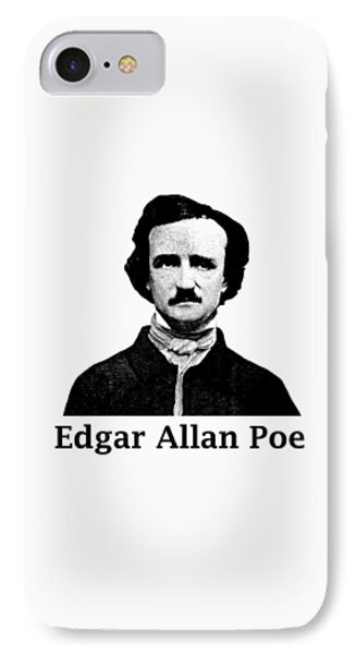 Edgar Allan Poe IPhone Case by War Is Hell Store