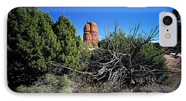Edge Of Life Arches Phone Case by Lawrence Christopher