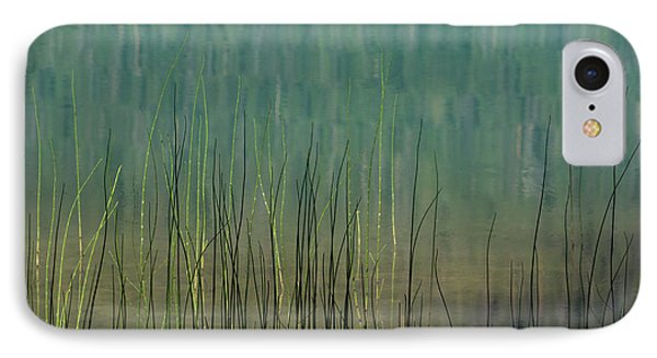 Edge Of The Lake - 365-262 IPhone Case by Inge Riis McDonald