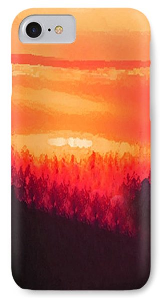 Edge Of Town IPhone Case