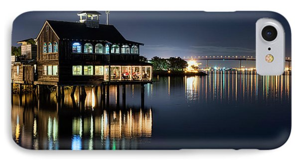 IPhone Case featuring the photograph Edgewater Grill by Eddie Yerkish