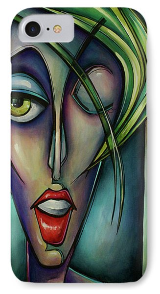 Edgey Phone Case by Michael Lang