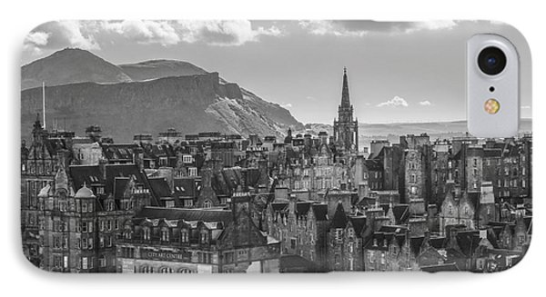 Edinburgh - Arthur's Seat IPhone Case by Amy Fearn