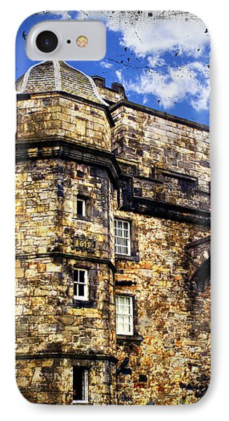 Edinburgh Castle IPhone Case by Judi Saunders