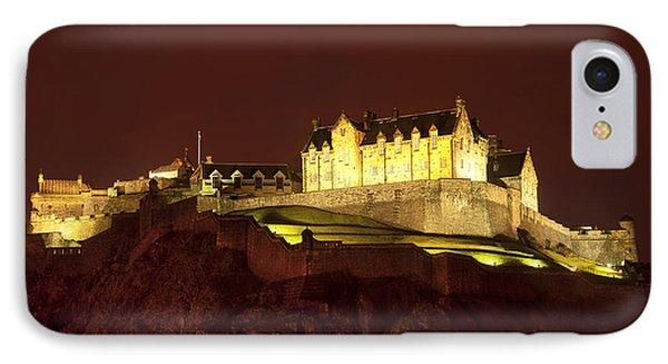 Edinburgh Castle Phone Case by Svetlana Sewell