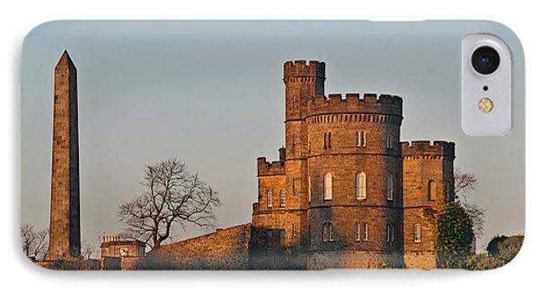 Edinburgh Scotland - Governors House And Obelisk Calton Hill Phone Case by Christine Till