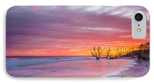 Edisto Beach Sunset IPhone Case