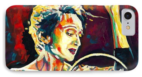 Edith Piaf- La Mome Phone Case by Vel Verrept