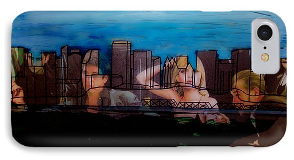 Edmonton Landscape 1 IPhone Case by Kim Peto