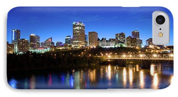 Edmonton Skyline IPhone Case