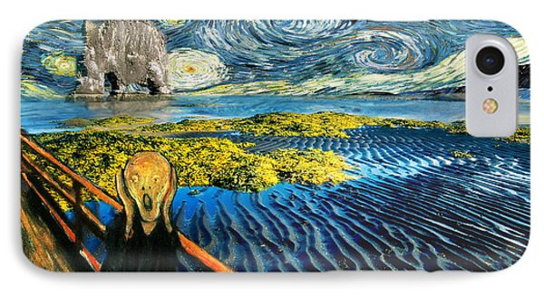Edvard Meets Vincent Posters IPhone Case